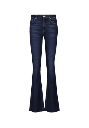 Bootcut mid-rise bootcut jeans