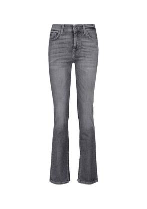 The Straight mid-rise jeans