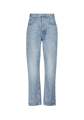 Les Pommes high-rise straight jeans