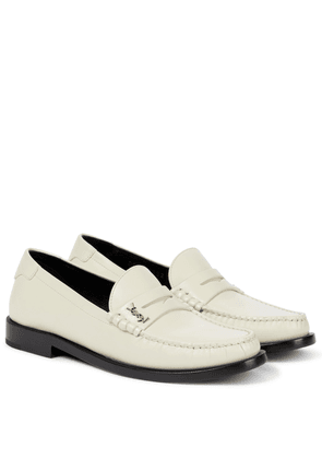 Le Loafer leather loafers