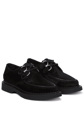 Anthiny suede loafers