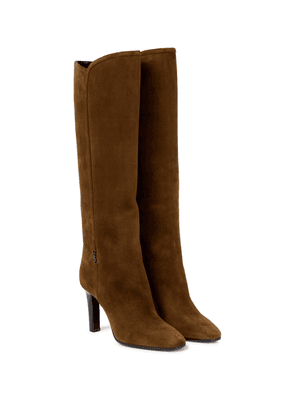 Lady 95 suede knee-high boots