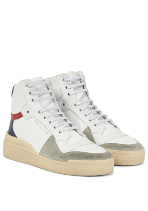 SL24 leather high-top sneakers