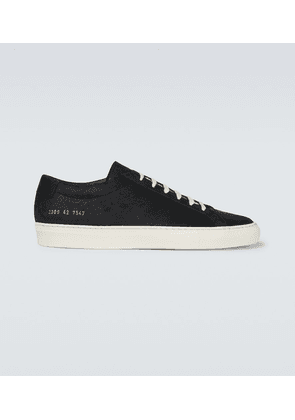Original Achilles Low waxed leather sneakers