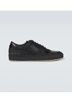 BBall Low leather sneakers