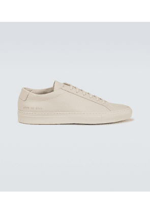 Achilles Low Saffiano leather sneakers