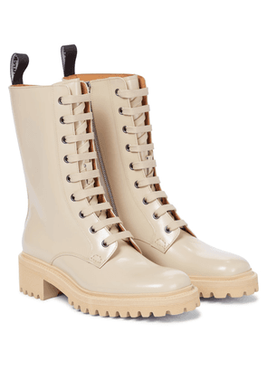 Exclusive to Mytheresa – Gwyneth leather combat boots