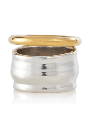 Stacked sterling silver ring