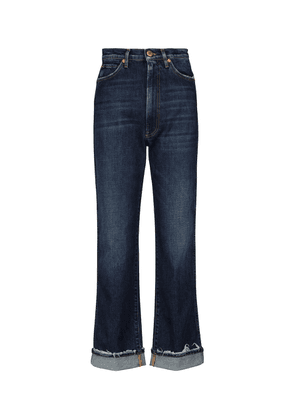 Claudia high-rise straight jeans