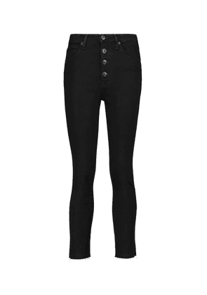 Poppy high-rise cropped skinny jeans