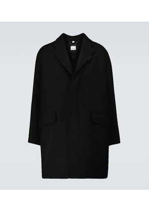 Cambrose wool-blend overcoat