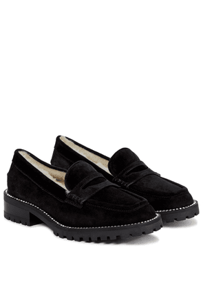 Deanna suede loafers