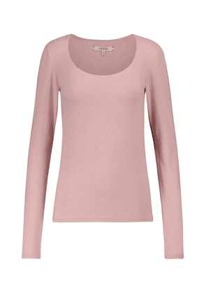 All Time Favorites stretch-cotton top