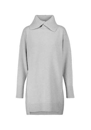 Timeless Ease wool and cashmere minidress