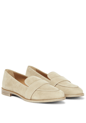 Martin suede loafers
