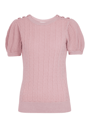 Belva wool and cashmere sweater