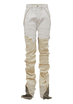 Lvr Exclusive Upcycled Cargo Jeans