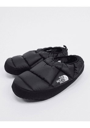 The North Face NSE Tent III mule slippers in black