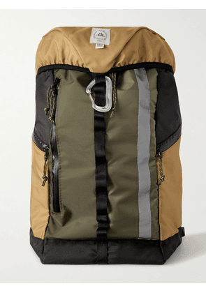 Epperson Mountaineering - Climb Pack Large Logo-Appliquéd Recycled CORDURA Backpack - Men - Black