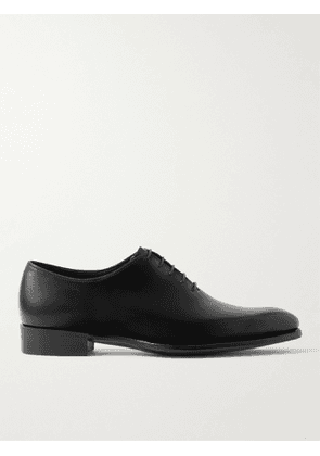 George Cleverley - Merlin Whole-Cut Leather Oxford Shoes - Men - Black - UK 7