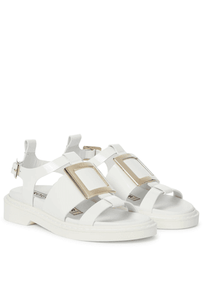 Exclusive to Mytheresa – Viv' Rangers patent leather sandals