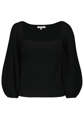 Structured Touch cotton-blend sweater
