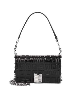 4G Small embossed leather crossbody bag