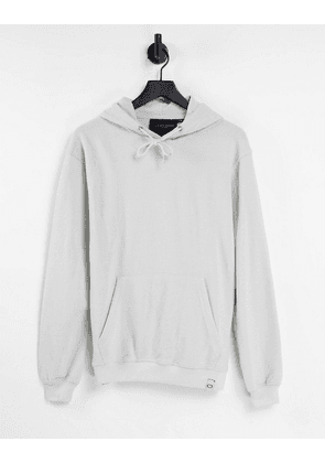Criminal Damage co-ord oversized hoodie in grey