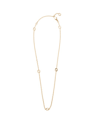 Gucci - GG-logo 18kt Gold Chain Necklace - Womens - Yellow Gold