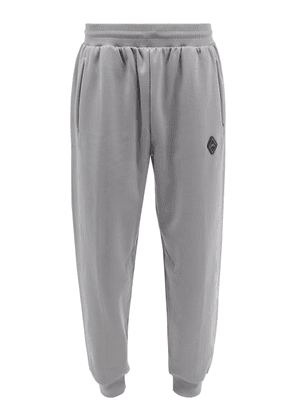 A-Cold-Wall* - Logo-plaque Jersey Track Pants - Mens - Grey