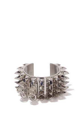 Givenchy - Spiked Cuff - Womens - Silver
