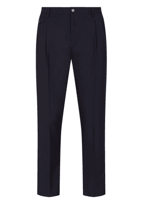 Dolce & Gabbana cashmere tailored trousers - Blue
