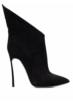 Casadei Blade suede ankle boots - Black