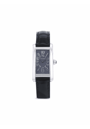 Cartier 1990s pre-owned Tank Américaine 35mm - Grey