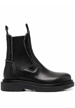 Buttero leather chelsea boots - Black