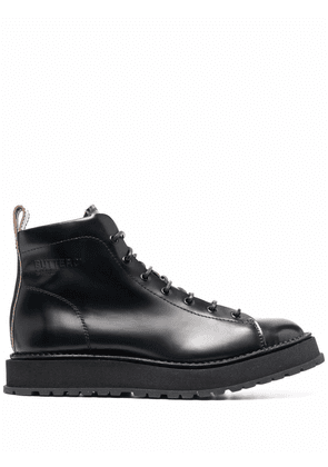Buttero lace up ankle boots - Black