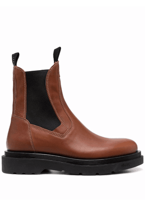 Buttero leather chelsea boots - Brown