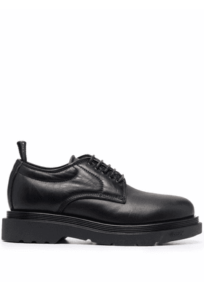Buttero leather derby shoes - Black