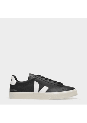 Campo Sneakers in Black and White Chromefree Leather