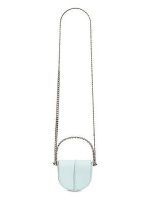 Infinity Case Chain Leather Shoulder Bag