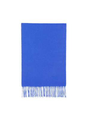 Mulberry Small Solid Lambswool Scarf - Porcelain Blue