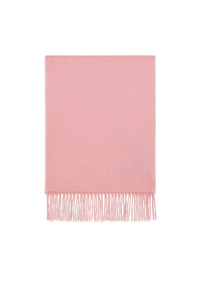 Mulberry Small Solid Lambswool Scarf - Sorbet Pink
