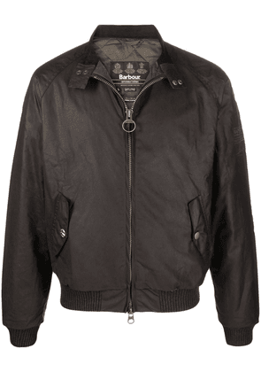 Barbour zipped bomber jacket - Brown
