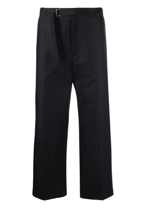 Costumein belted cropped trousers - Black