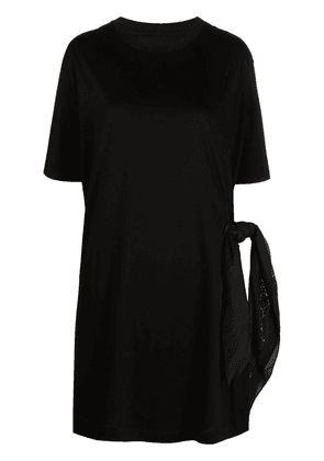 Givenchy side-tie T-shirt dress - Black