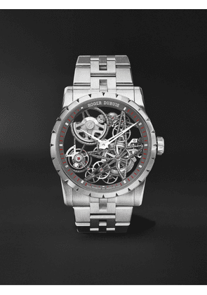 Roger Dubuis - Excalibur Automatic Skeleton 42mm Stainless Steel Watch, Ref. No. EX0793 - Men - Silver