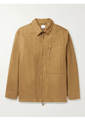 Burberry - Padded Cotton-Twill Jacket - Men - Brown - M
