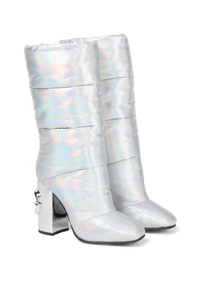Jackie quilted boots