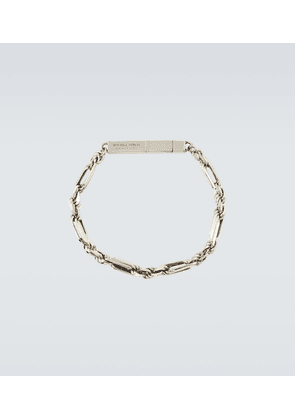 Chains ID sterling silver bracelet