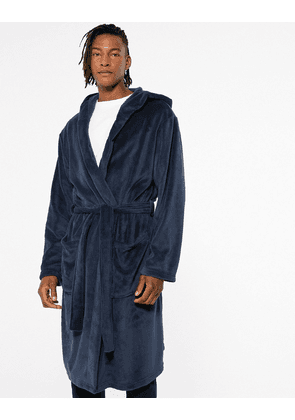 New Look dressing gown in navy